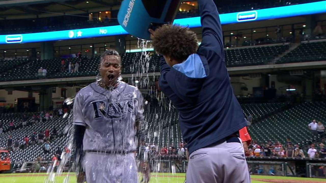Beckham gets doused