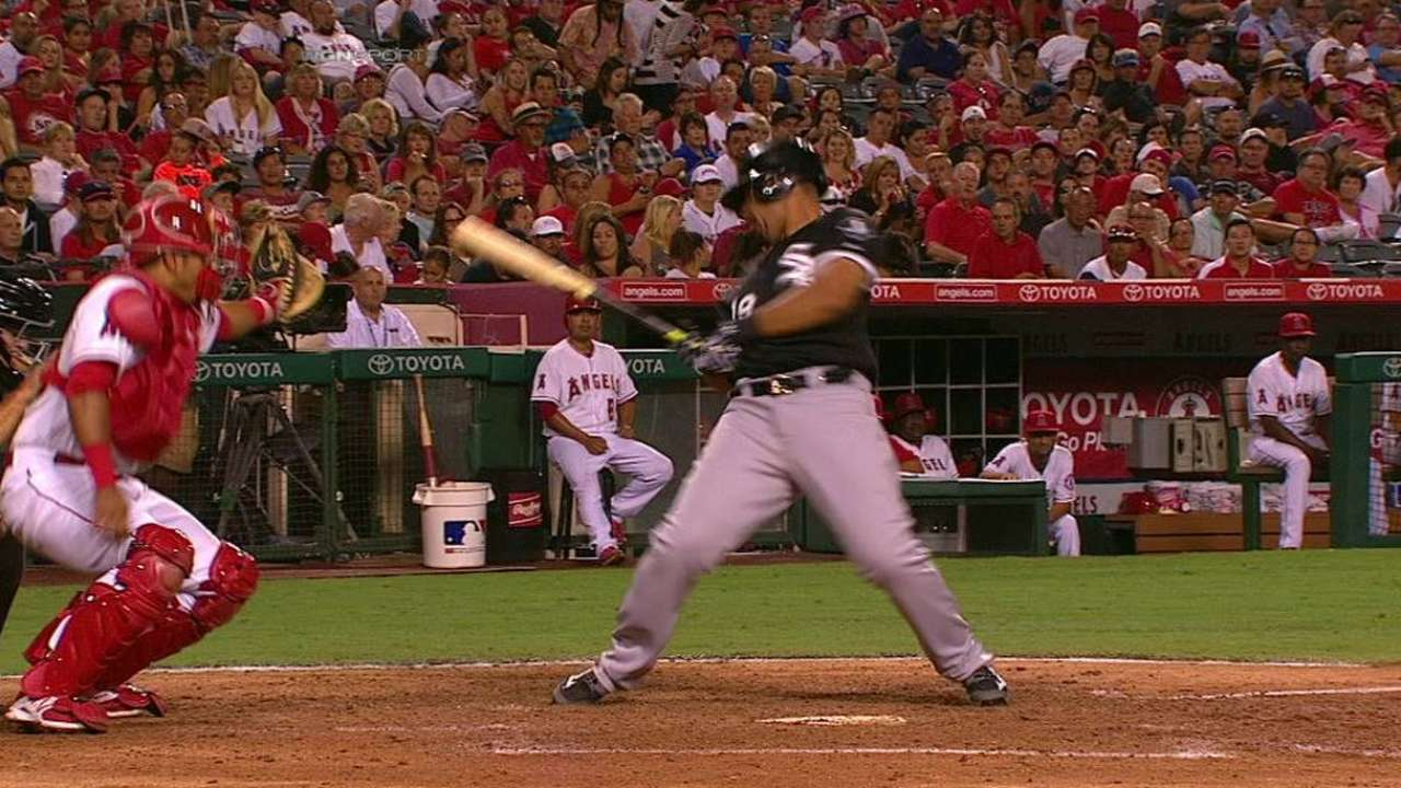 Abreu rolls with the plunkings