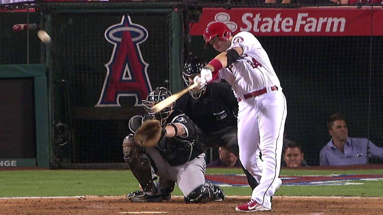 Cron's go-ahead solo homer