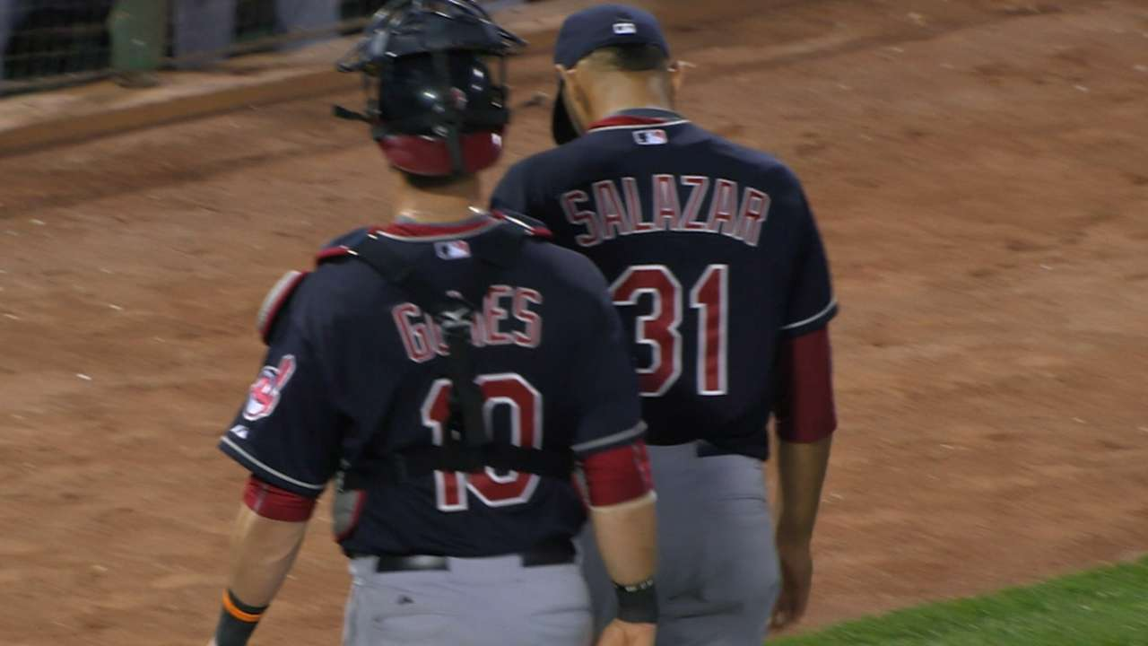 Salazar's one-run outing