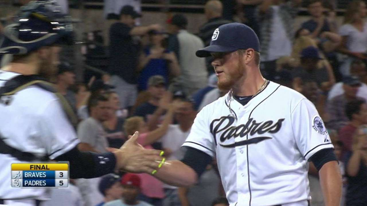 Kimbrel closes door on Braves