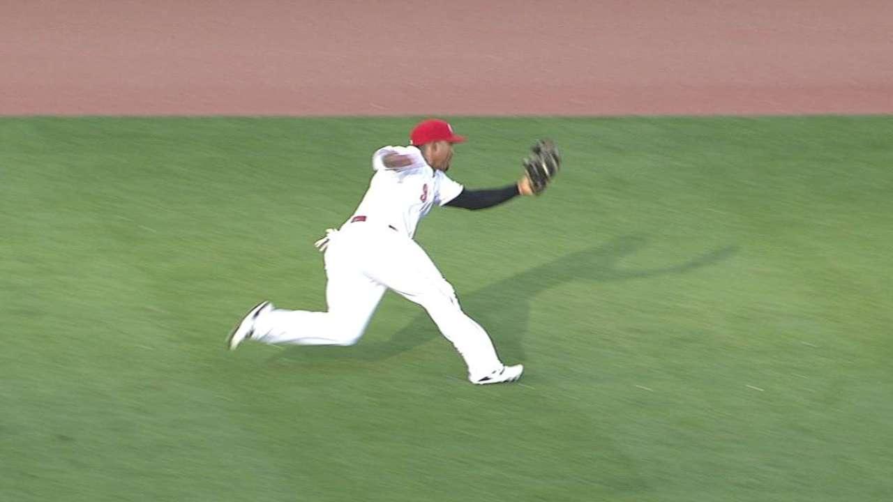 Byrd's nice catch