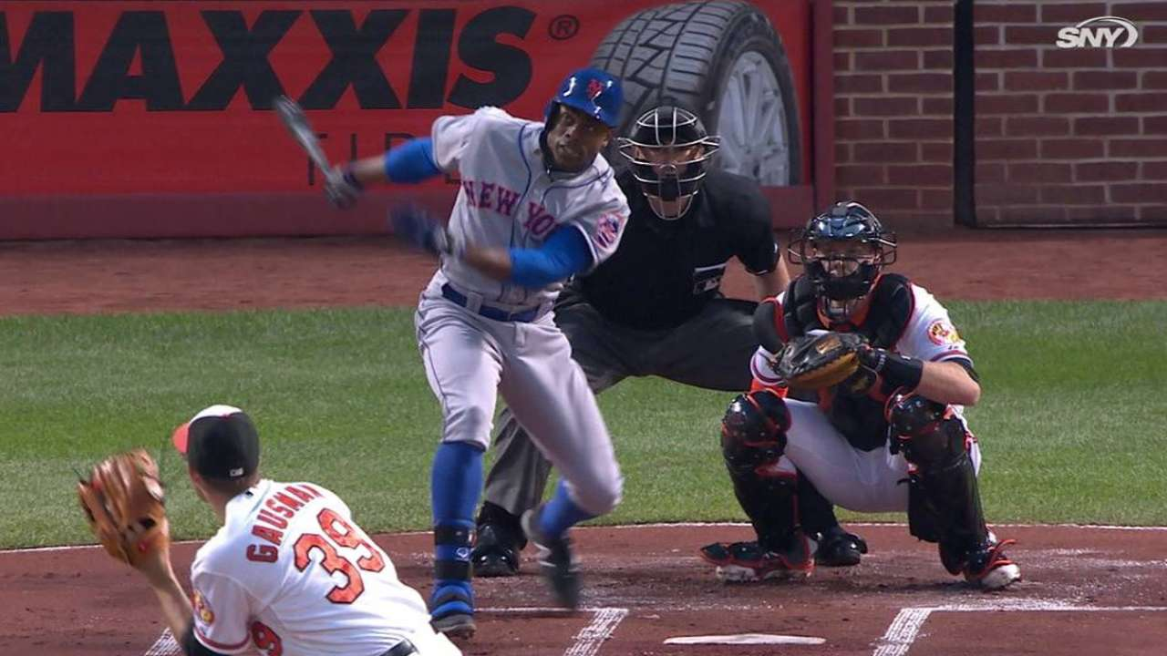 Granderson sets Mets record with 7th leadoff homer