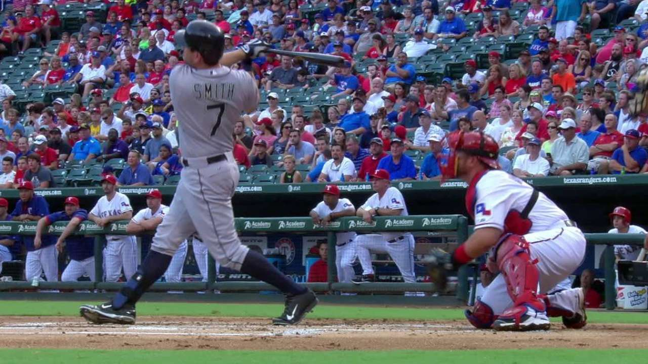S. Smith's two-run homer