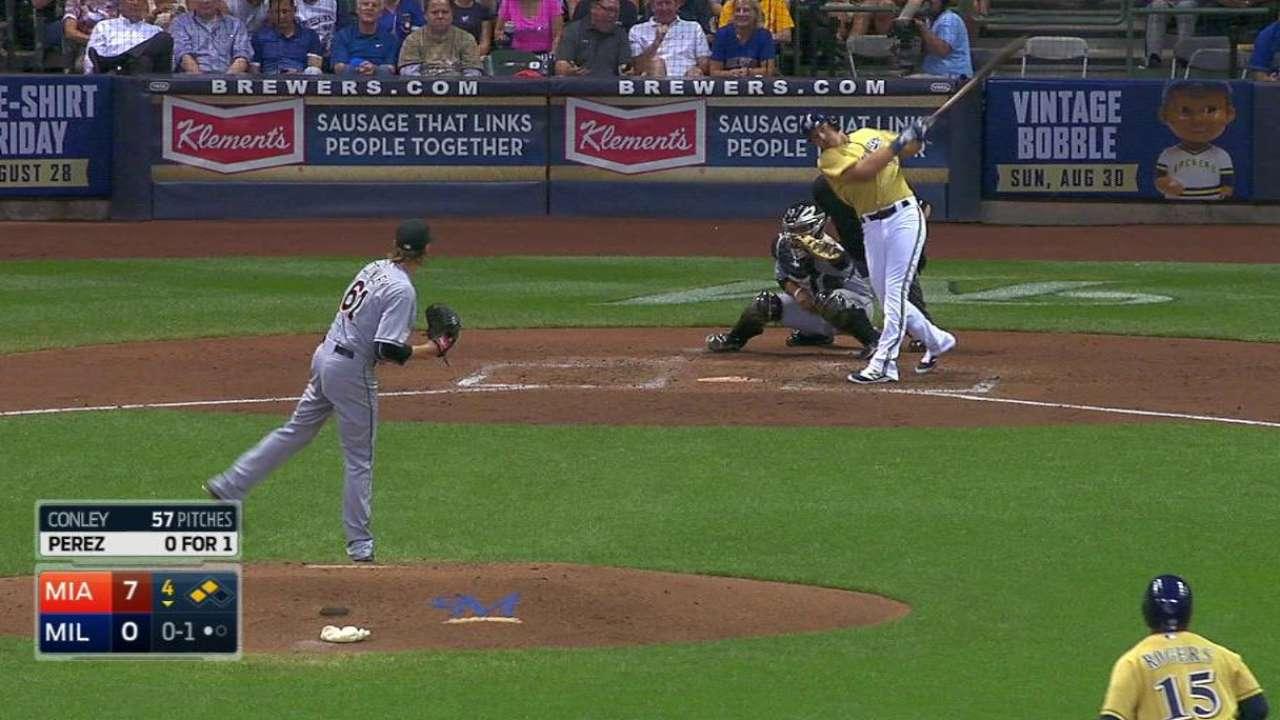 Perez sees playing time slip at third base