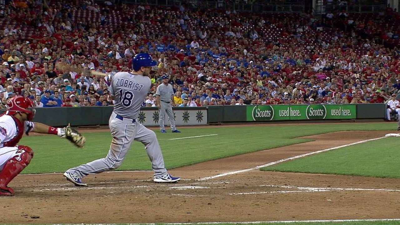 Zobrist keeps contributing with clutch homer