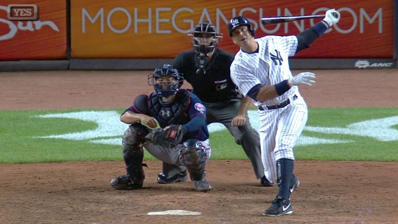 A-Rod's grand slam lifts Yanks, stuns Twins