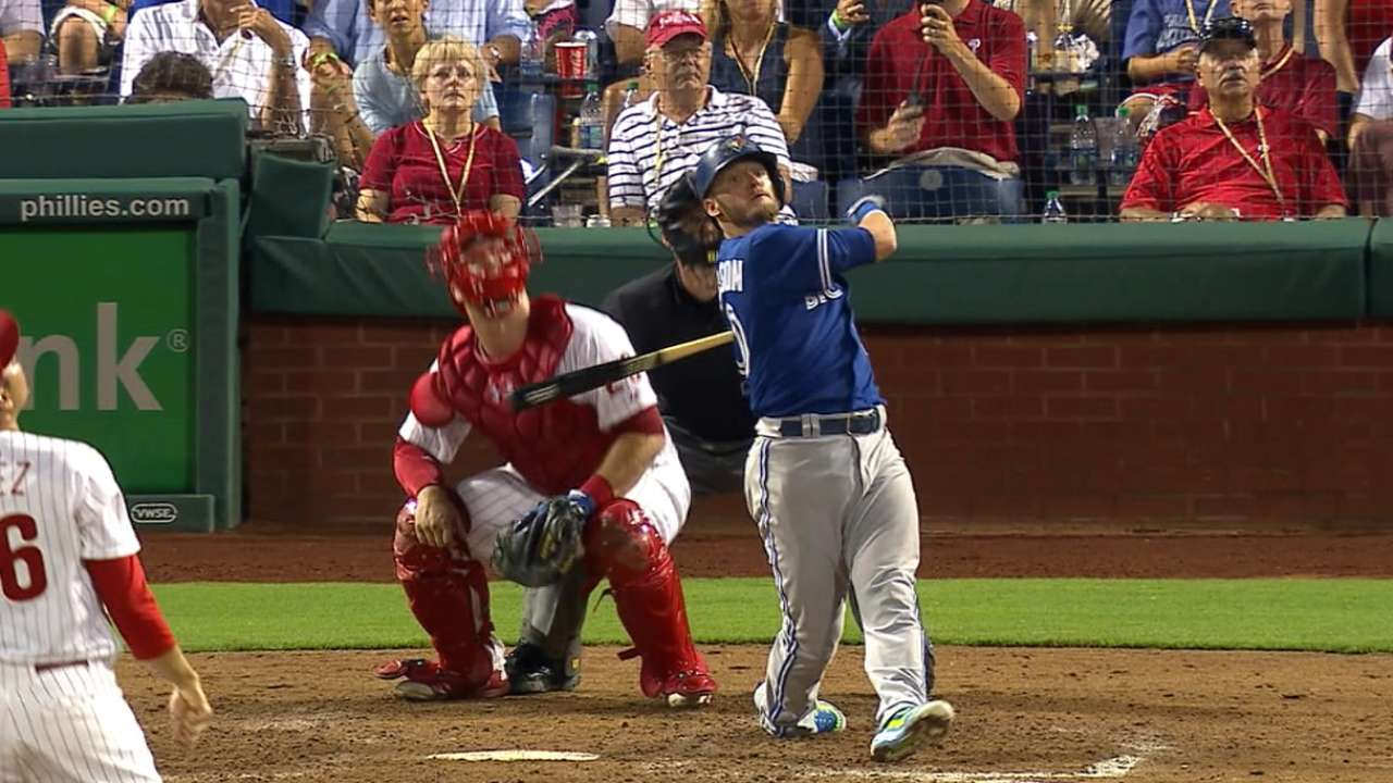 Blue Jays' five-run 6th inning