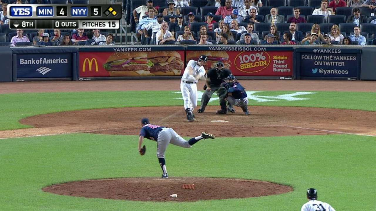 Headley's two-run double