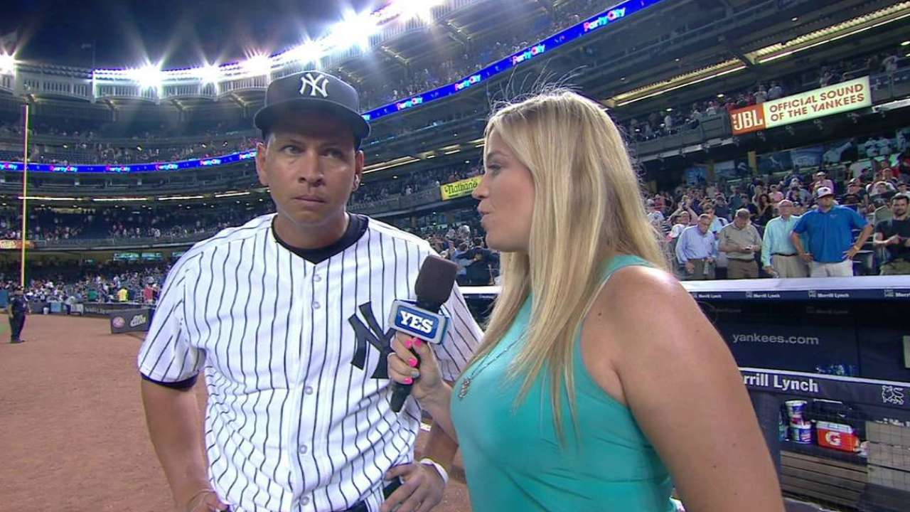 A-Rod on grand slam, win