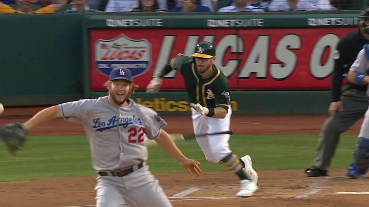 Kershaw's great play