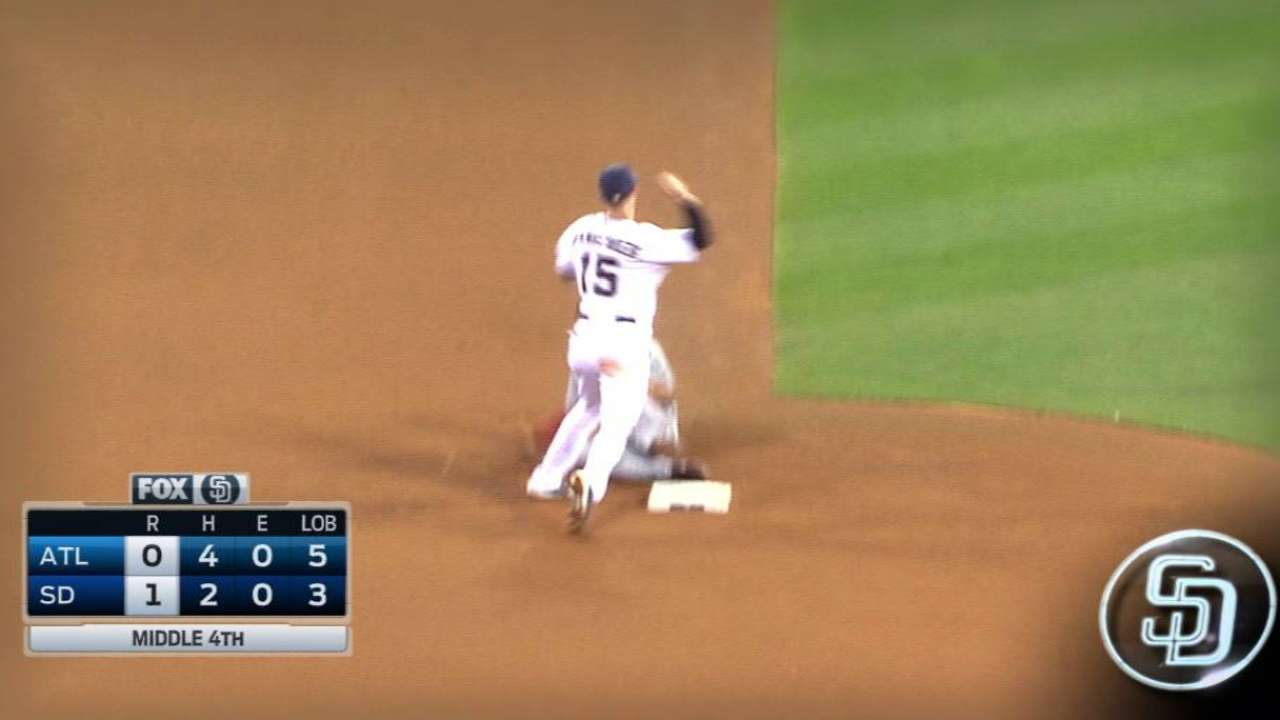 Shields comes up big to keep Braves at bay