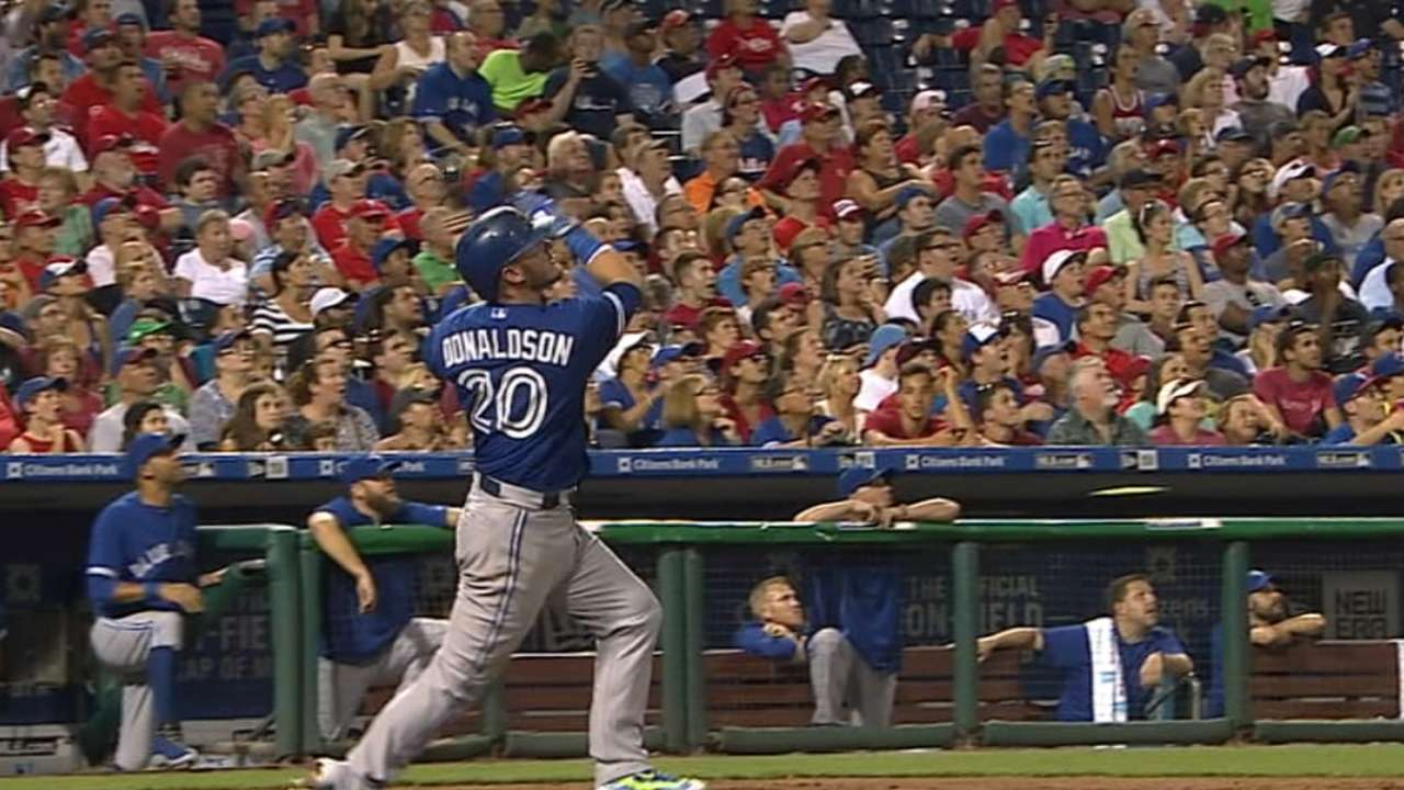 Must C: Donaldson crushes a pair