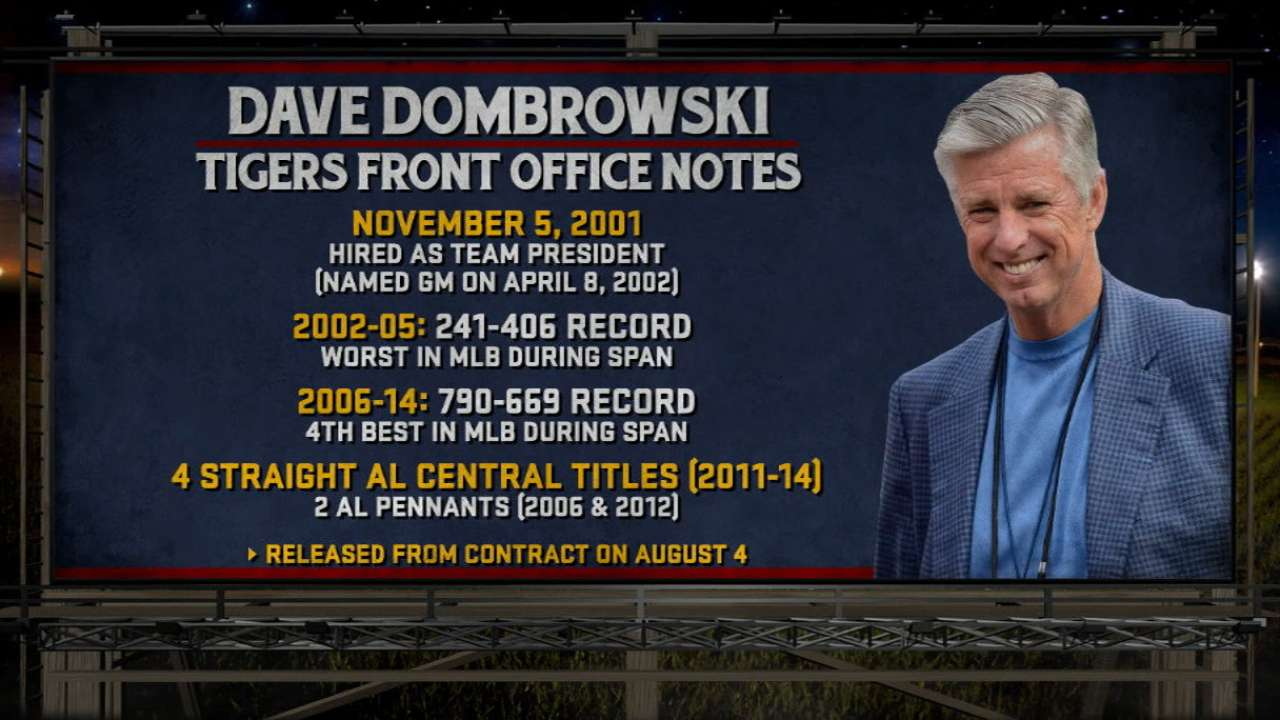 Dombrowski joins Red Sox's front office