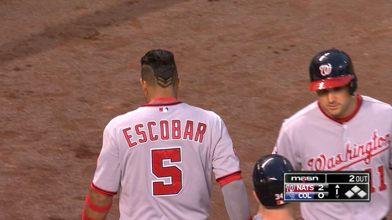 Escobar's big day at the dish