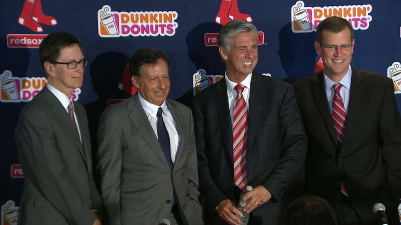 Dombrowski on joining Red Sox