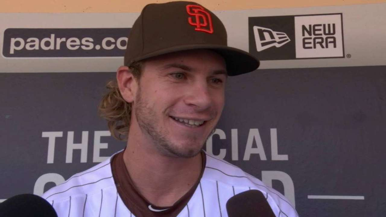 Jankowski brings speed, energy to Padres