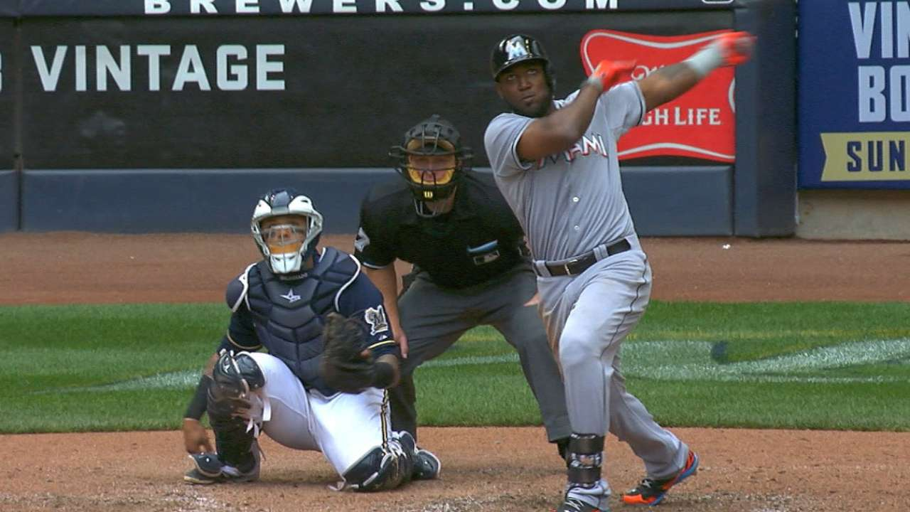 Koehler, Marlins tuvieron una mala tarde en Milwaukee