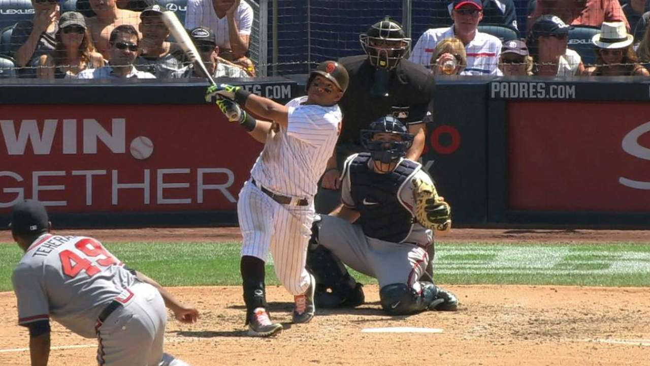 Solarte chips in from both sides of plate
