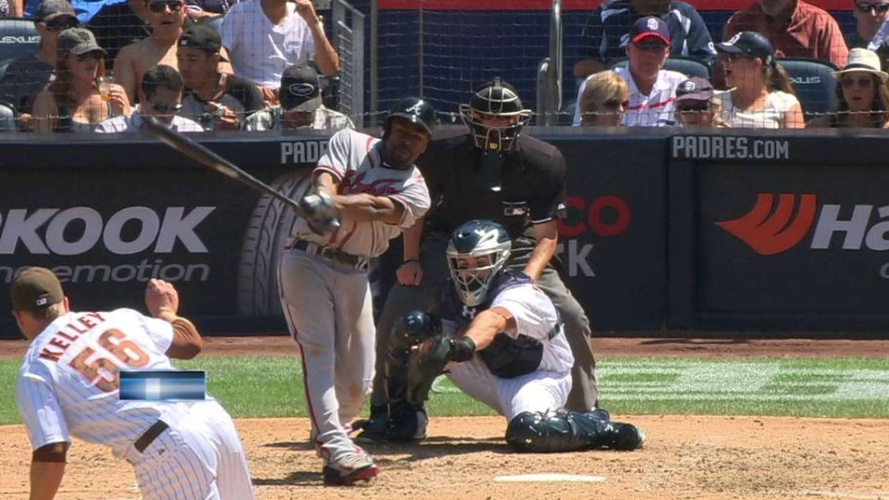 Padres' move for Kelley continues to pay off