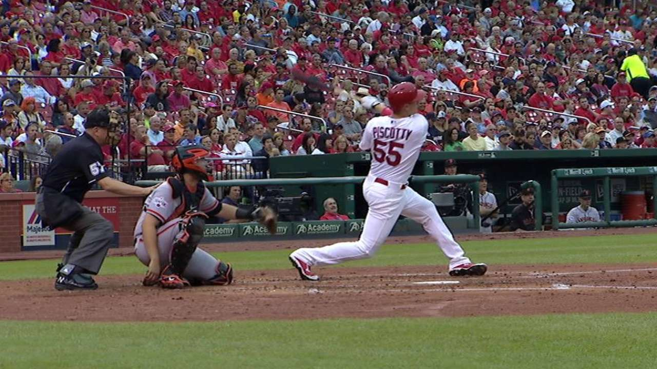 Piscotty's solo homer