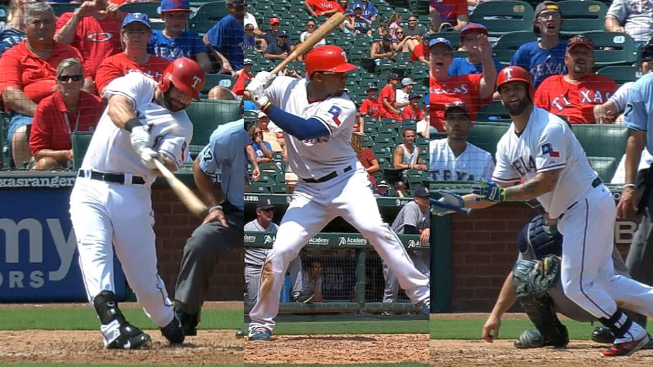 Homer happy Rangers cruise past M's in finale