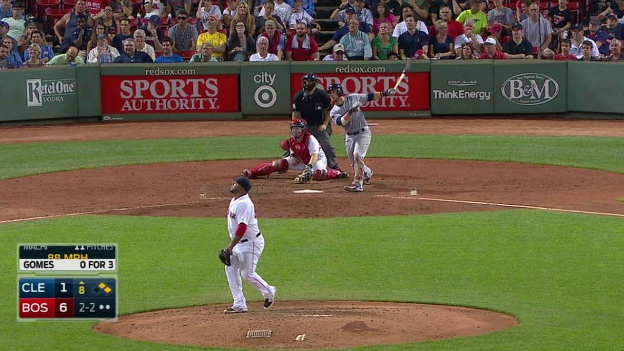 Gomes' three-run homer