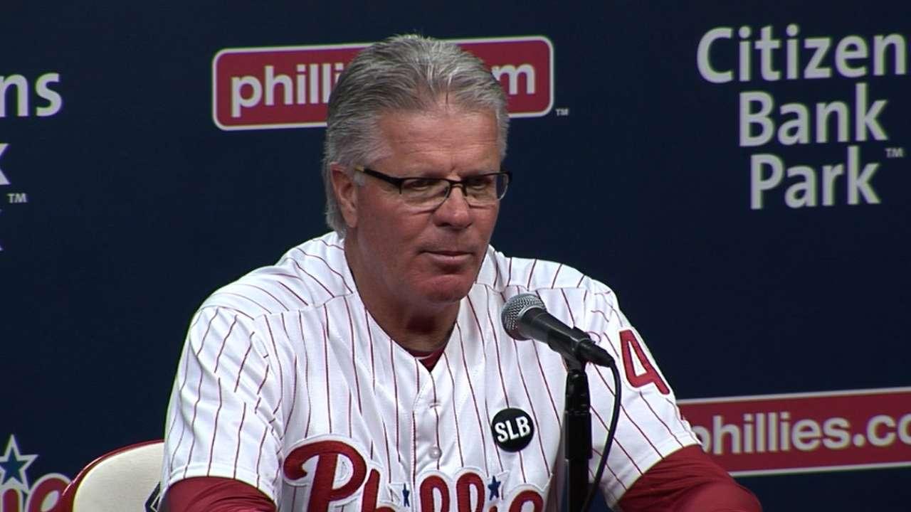 Mackanin on Phillies' win