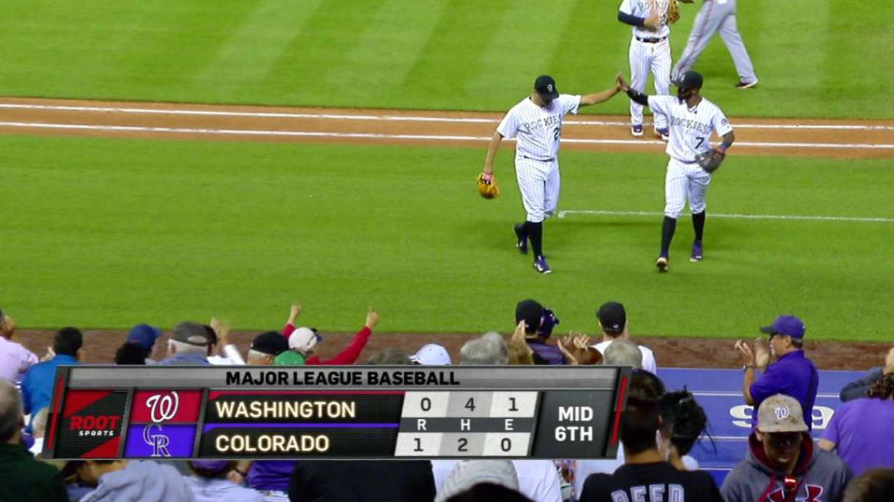 De La Rosa shows grit to keep Rox in game