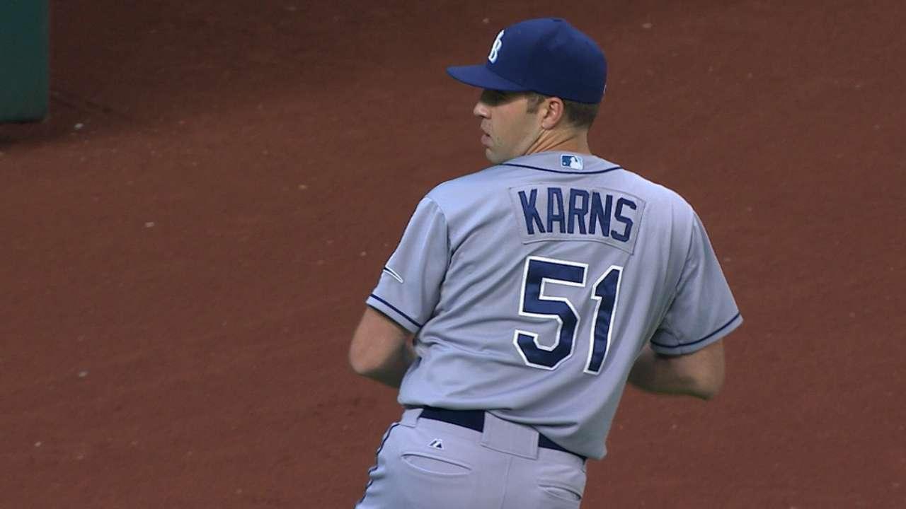 Karns' one-run outing