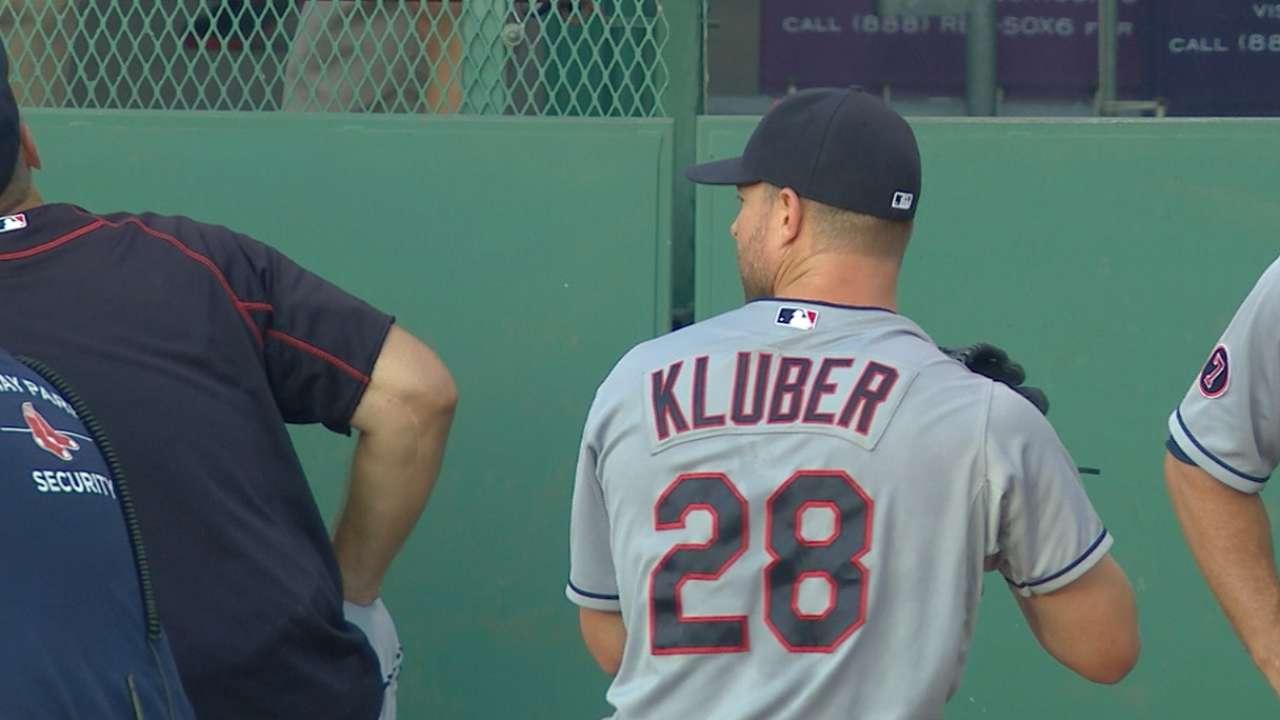Kluber's nine strikeouts