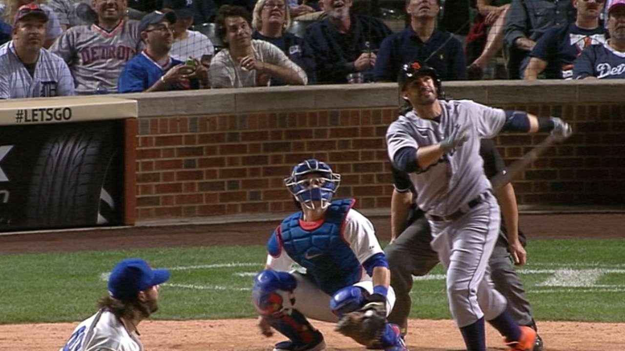 Tigers belt five home runs