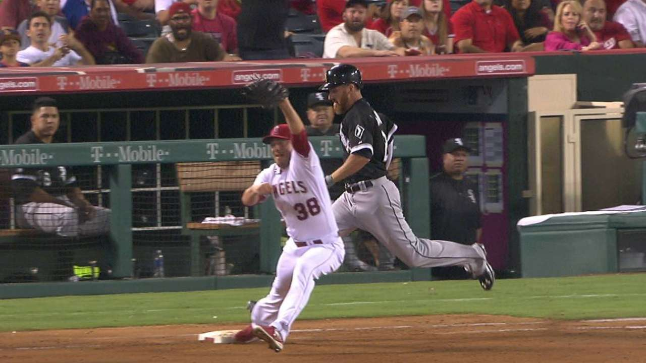 Overturned safe call seals wild win for Angels