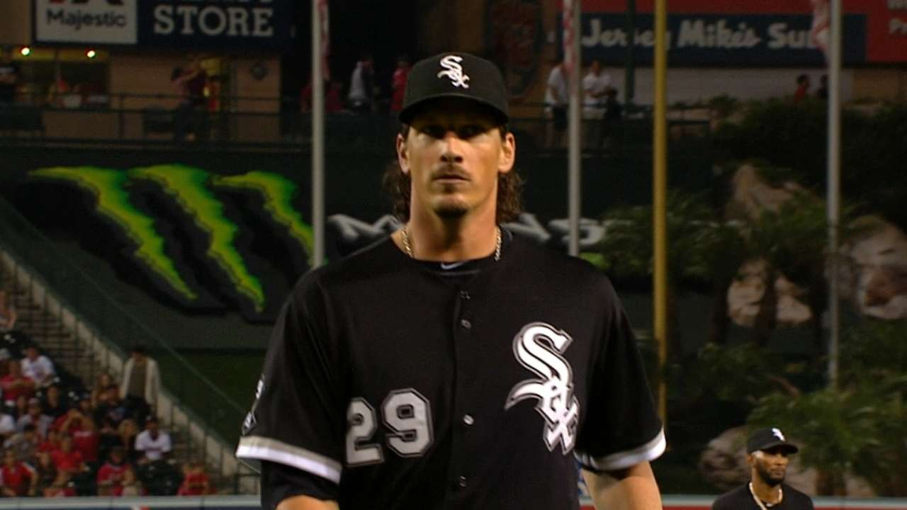 Splitter's return bodes well for Samardzija