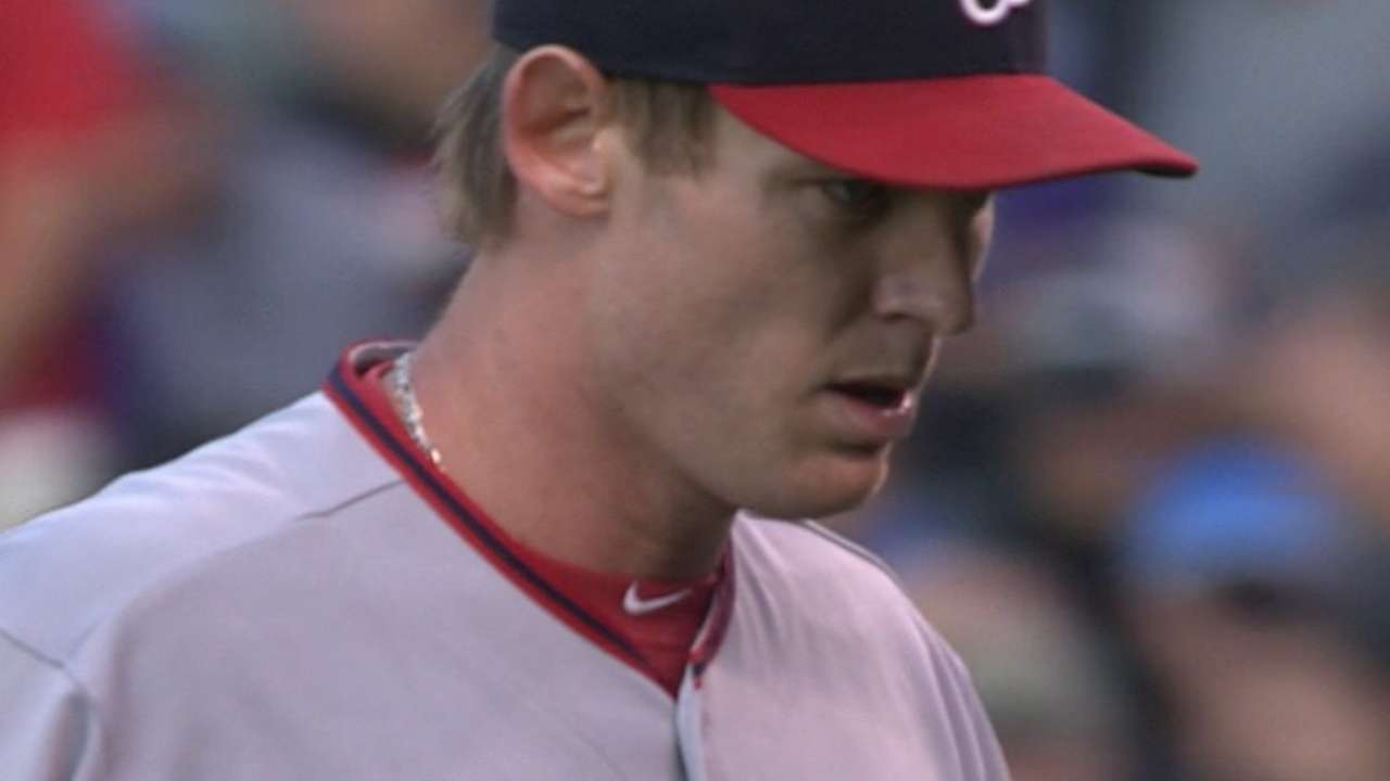 Strasburg dominates to earn first win at Coors