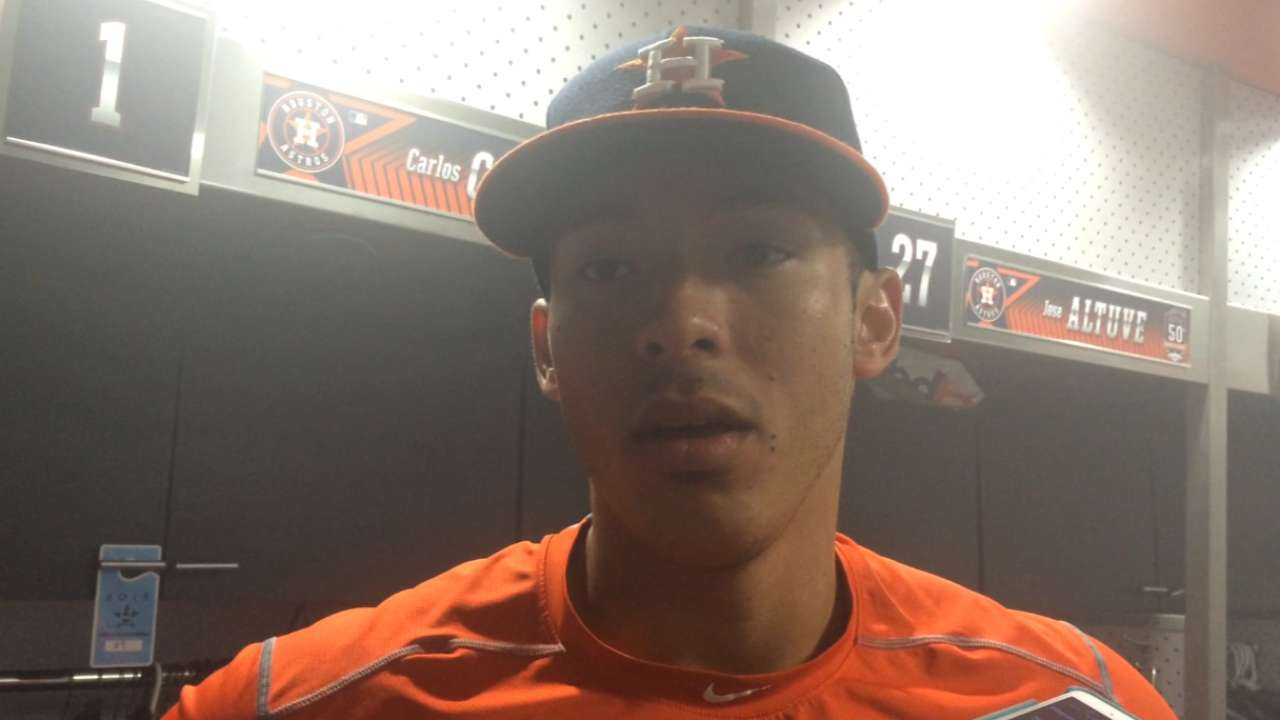 Correa on his great game