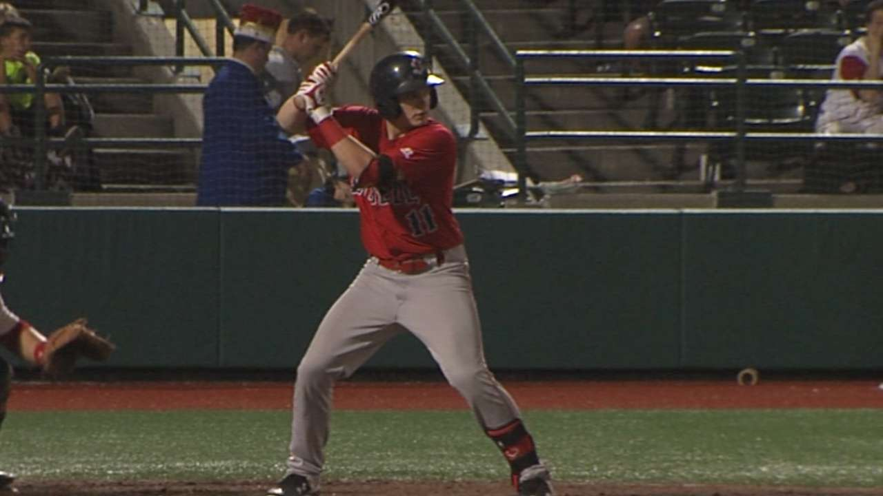 Boston's Matheny adjusting to life in the pros