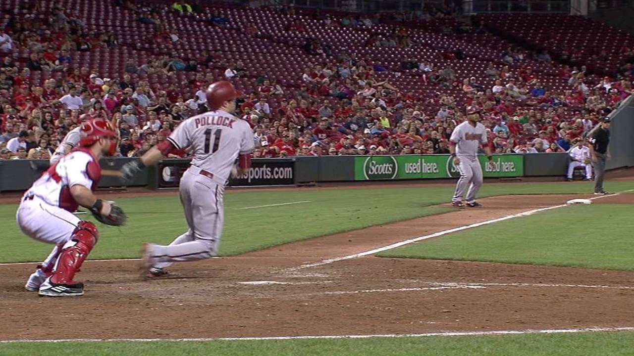 D-backs rally to extend Reds' losing streak