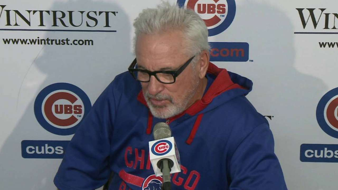 Maddon shakes things up with American Legion week
