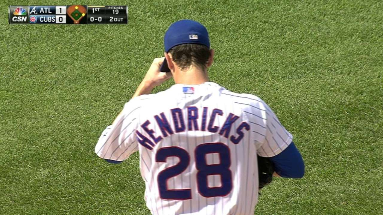 Hendricks fans Peterson