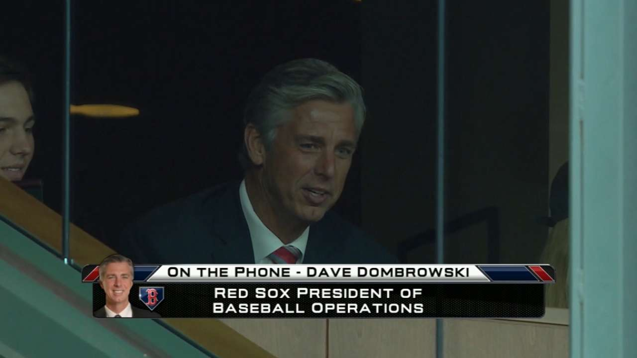 Bright future ahead for Red Sox with Dombrowski, roster youth