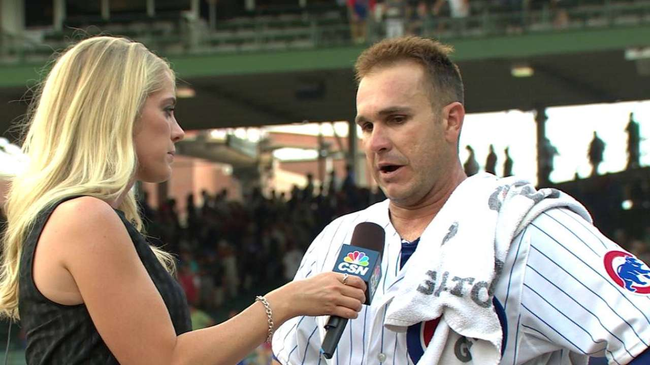 Montero on Cubs' victory
