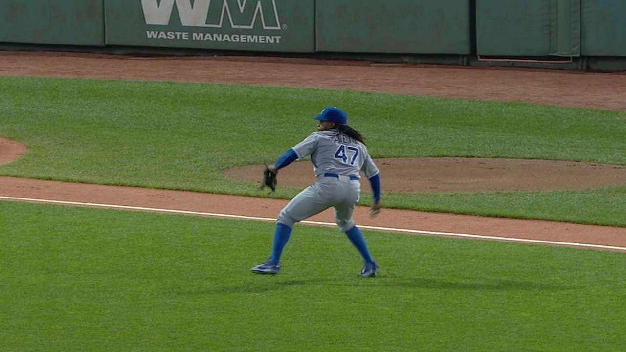 Cueto moving past rough performance