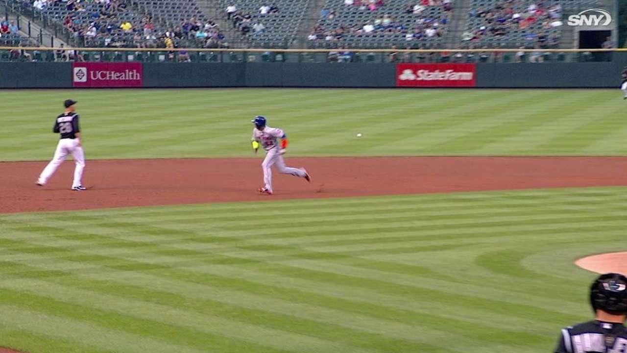 Back forces Duda to DL as Mets recall Alvarez