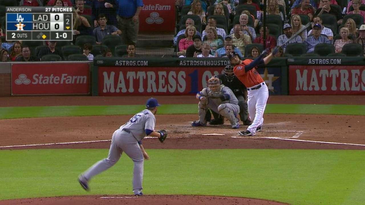 Marisnick's two-run home run