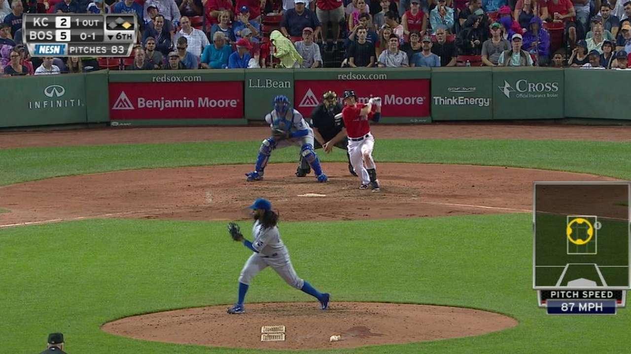 Rutledge's two-run homer