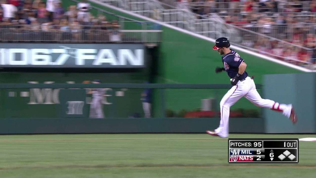 Harper's solo home run
