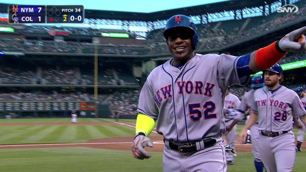 Céspedes pega 3 HR y Mets vapulean a los Rockies