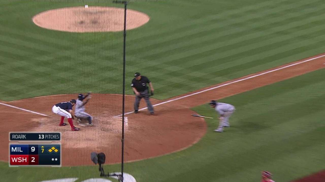 Brewers score two more in 7th