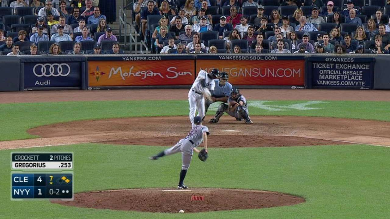 Indians' bullpen shuts down Yankees' threat